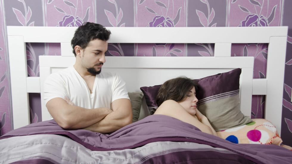 TRØTT: Nå er det bevist, kvinner er trøttere enn menn. I alle fall om vi skal tro KKs spaltist Kjetil Østli.  Foto: MaxRiesgo - Fotolia