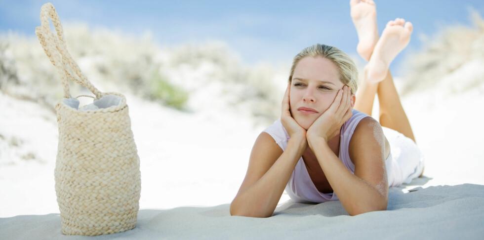 BARE LITT HJELPER MYE: Det er ikke mye soling som må til for å dekke vitamin D-behovet.  Foto: Alix Minde / ZenShui