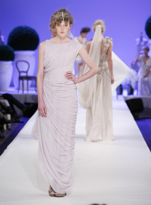 Denne kjolen i lys lavendel kan du også trygt brude hvis du skal være forlover.  Foto: Per Ervland