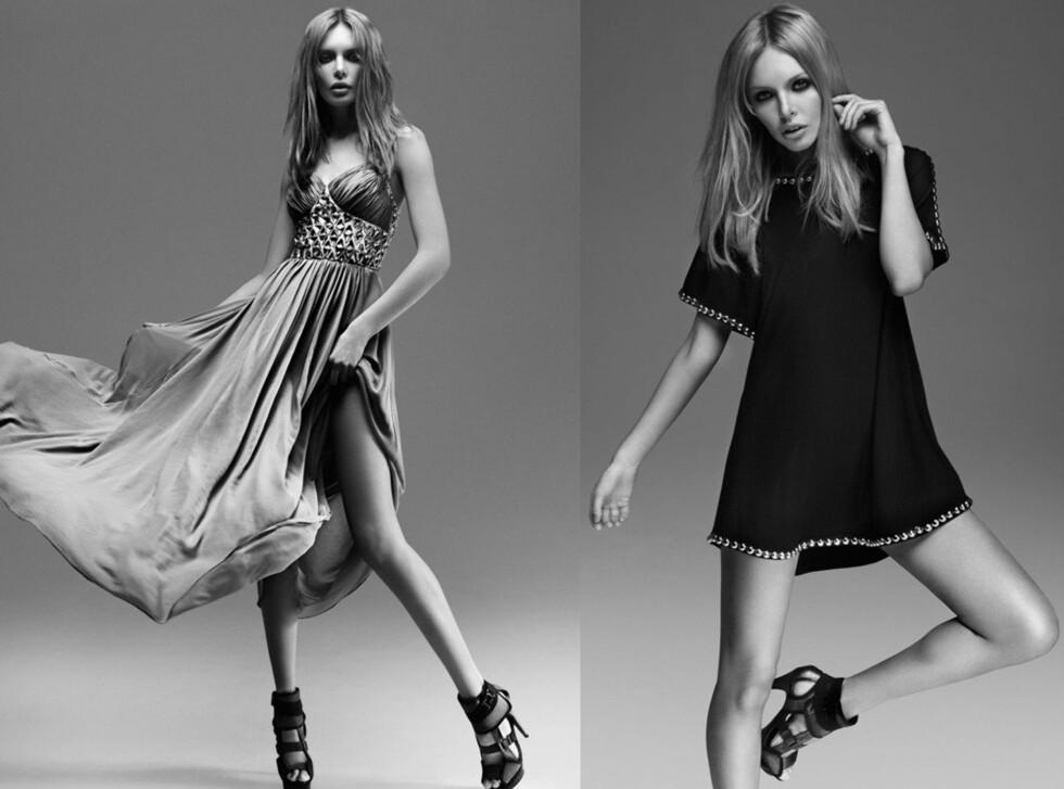 SKAL VÆRE FOR NORSKE KVINNER UANSETT ALDER: Designerens kjolekolleksjon er feminin med en rocka tvist.  Foto: Riccovero