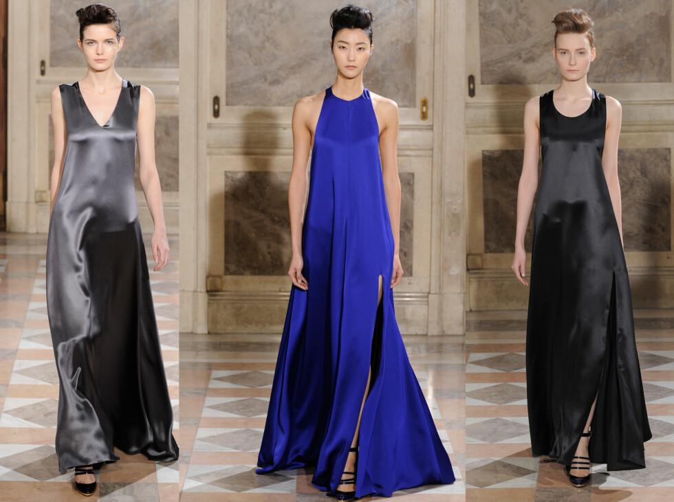 <strong>BOUCHRA JARRAR:</strong> Årets Oscar-kjoler blir enkle og i silke om Bouchra Jarrar får velge. Foto: All Over Press