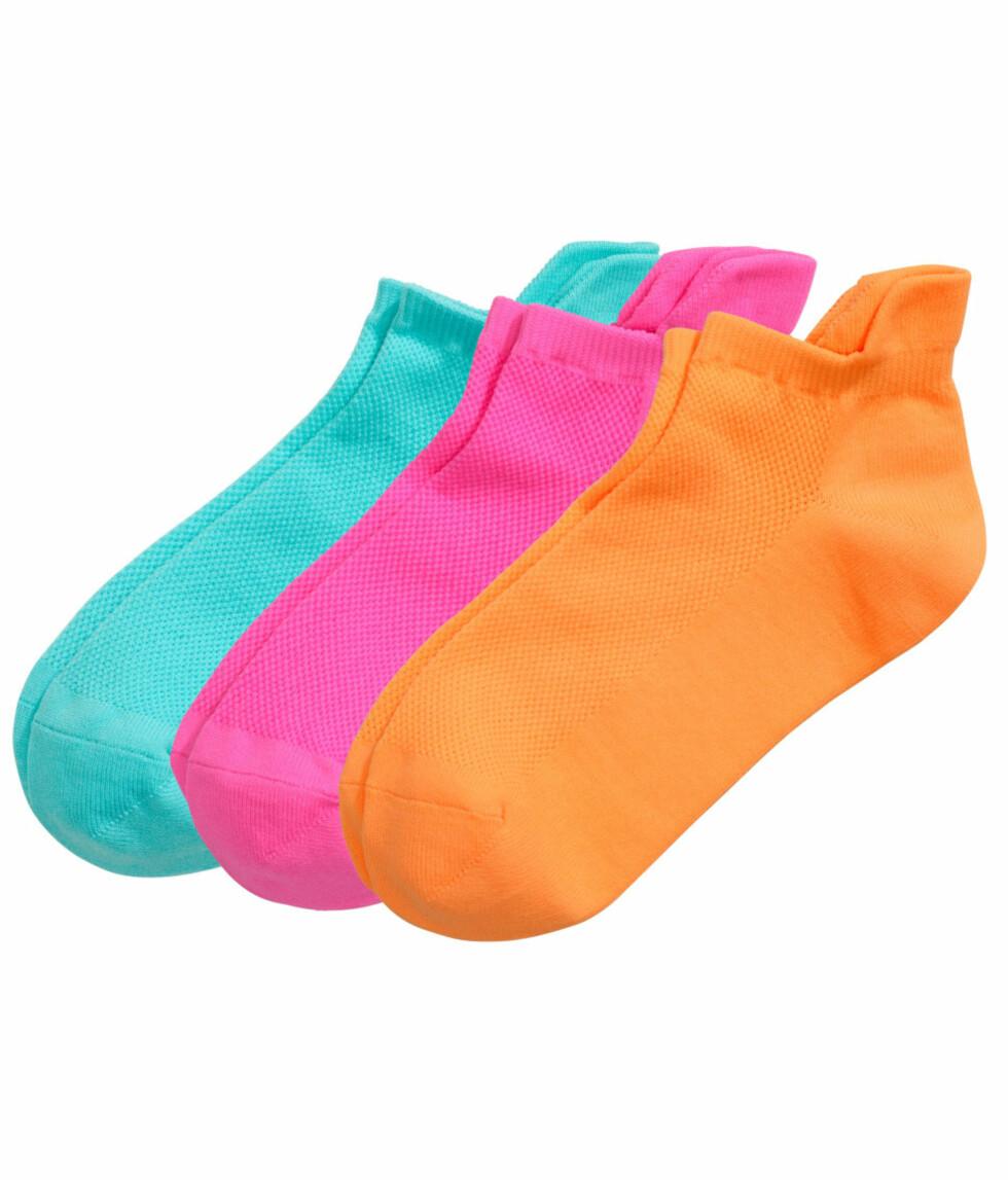 Sokker fra H&M, kr 79,50. Foto: Produsenten.
