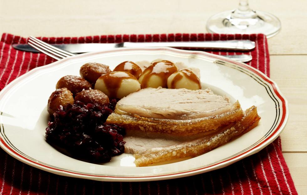 KALORIRIKT: Ribbemåltidet kan bli en kaloribombe, men trenger ikke om du velger litt bevisst. Foto: Colourbox