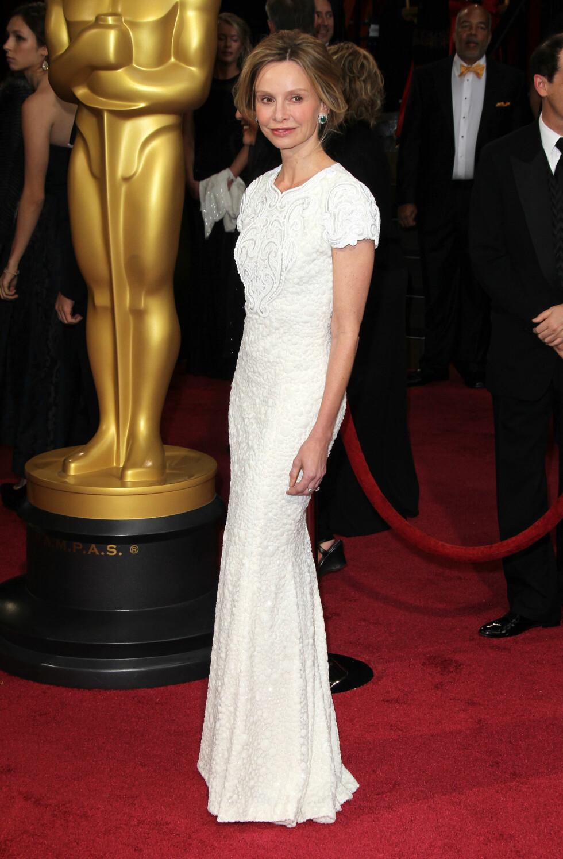 Calista Flockhart i kjole fra Andrew Gn. Foto: All Over Press