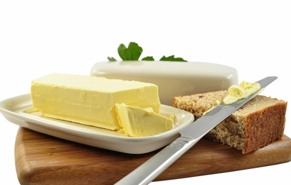 VALGETS KVAL: Vet du egentlig hva som er forskjellen på smør og margarin? Foto: Colourbox