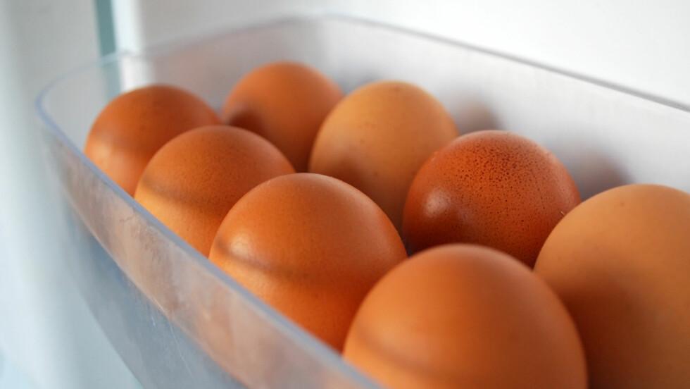 EGG: Visste du at egg fint kan spises et par uker etter de har gått ut på dato?   Foto: Georgi Nachev - Fotolia