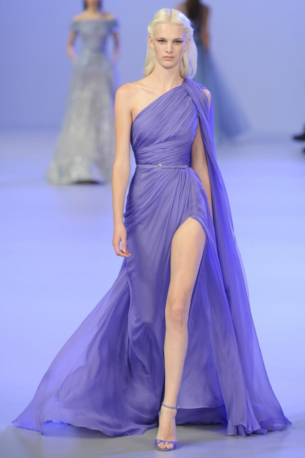 Elie Saab Haute Couture vår 2014 Foto: All Over Press