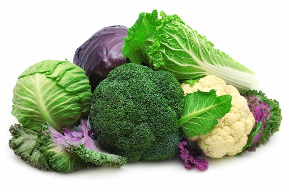 PROPPFULLE AV VITAMINER: Kål inneholder en rekke vitaminer og viktige næringsstoffer kroppen din trenger, og som er blant annet kreftforebyggende.              Foto: Serghei Velusceac - Fotolia