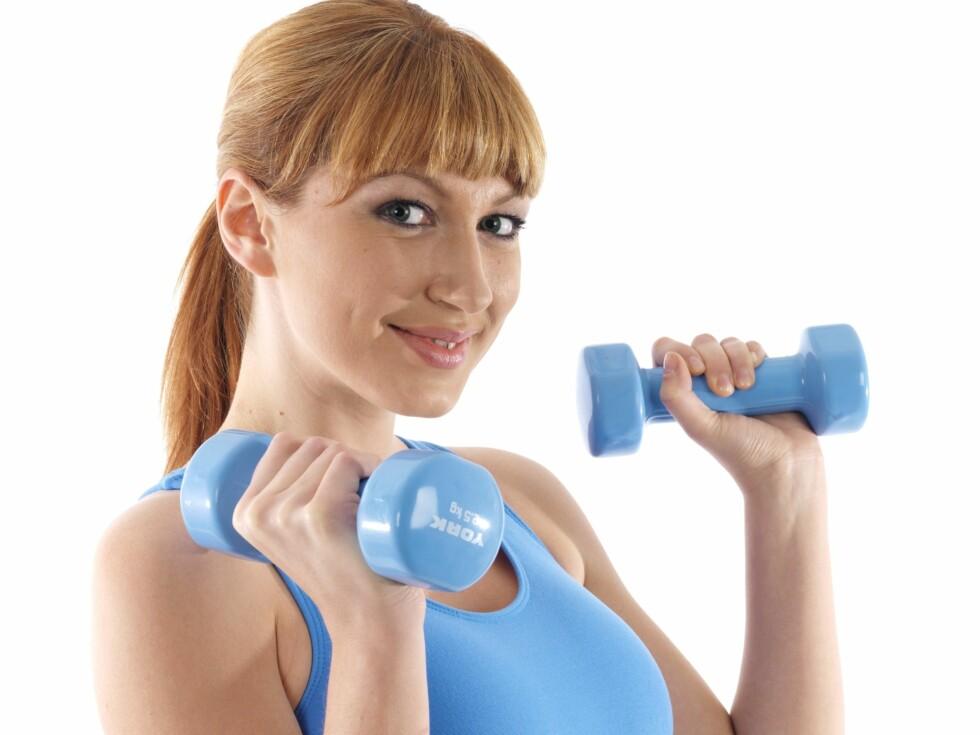 Tykk av styrketrening?
