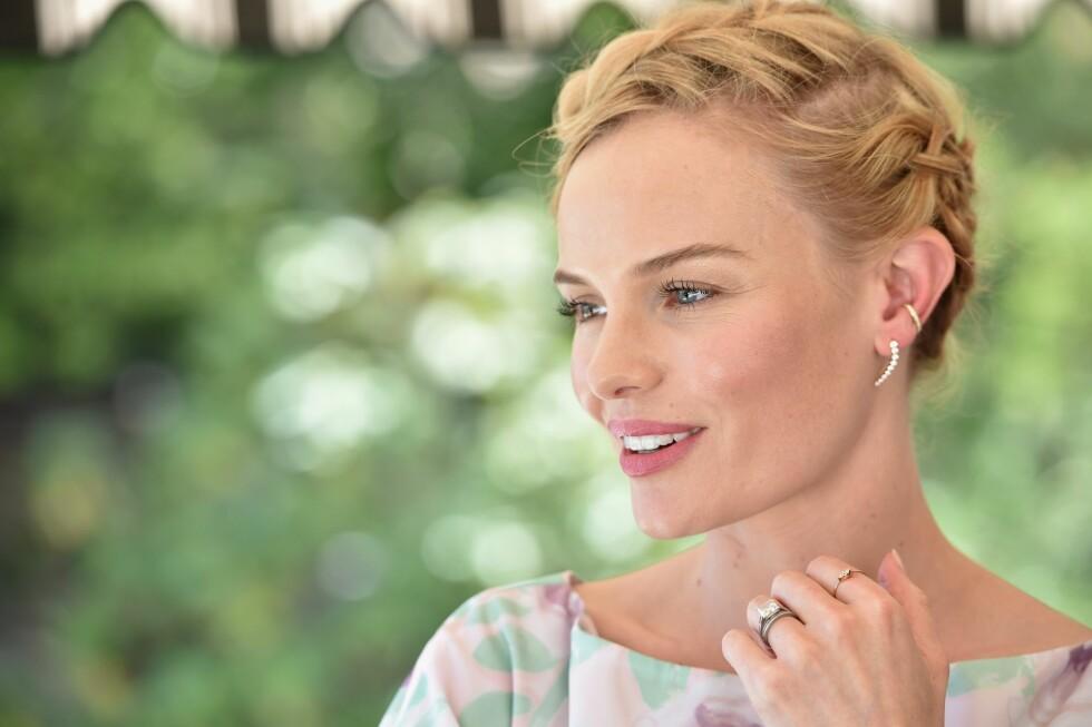 SOM KATE BOSWORTH: Hollywood-skjønnheten har alltid en nydelig glød i huden. Foto: Afp