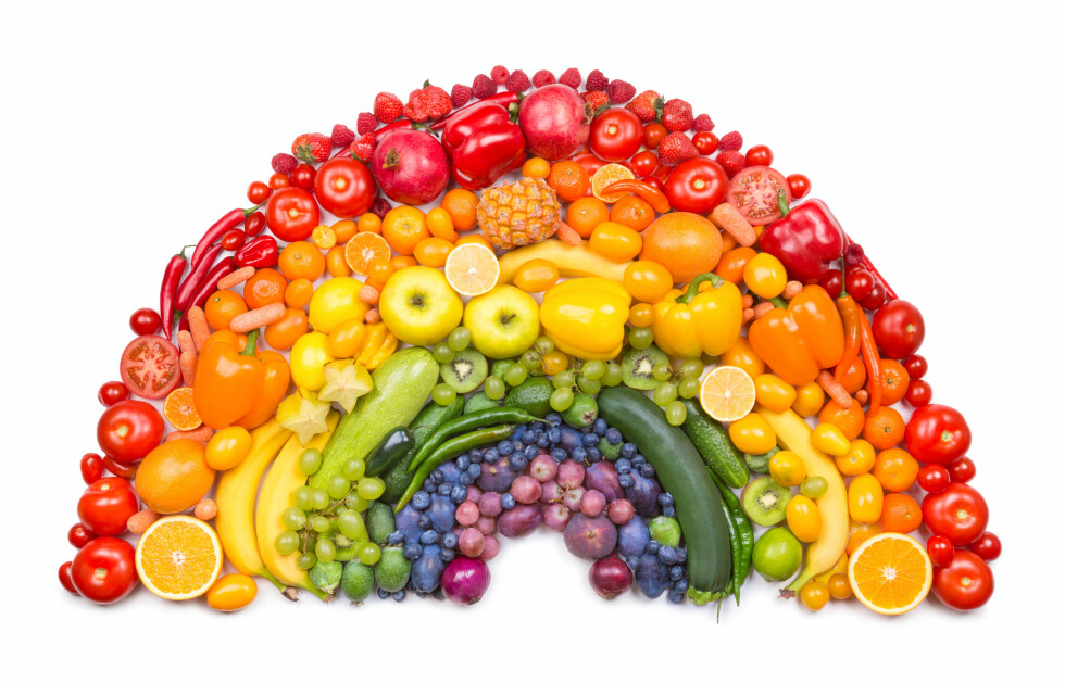 FARGERIKT: Velg sterke farger for å få i deg mest mulig av de beste antioksidantene med antiageeffekt for huden.  Foto: Malyshchyts Viktar - Fotolia
