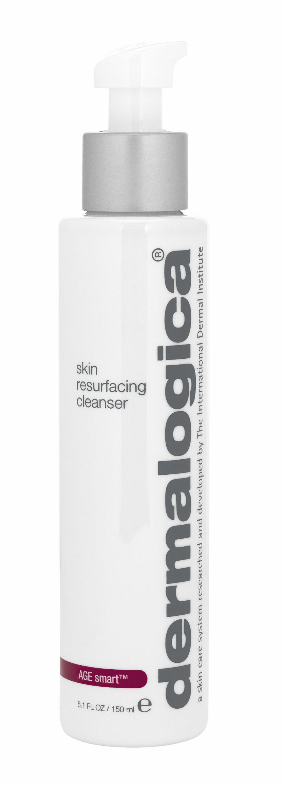 Skin Resurfacing Cleanser fra Dermalogica er et dobbeltvirkende, eksfolierende renseprodukt, kr 545. Foto: Produsenten