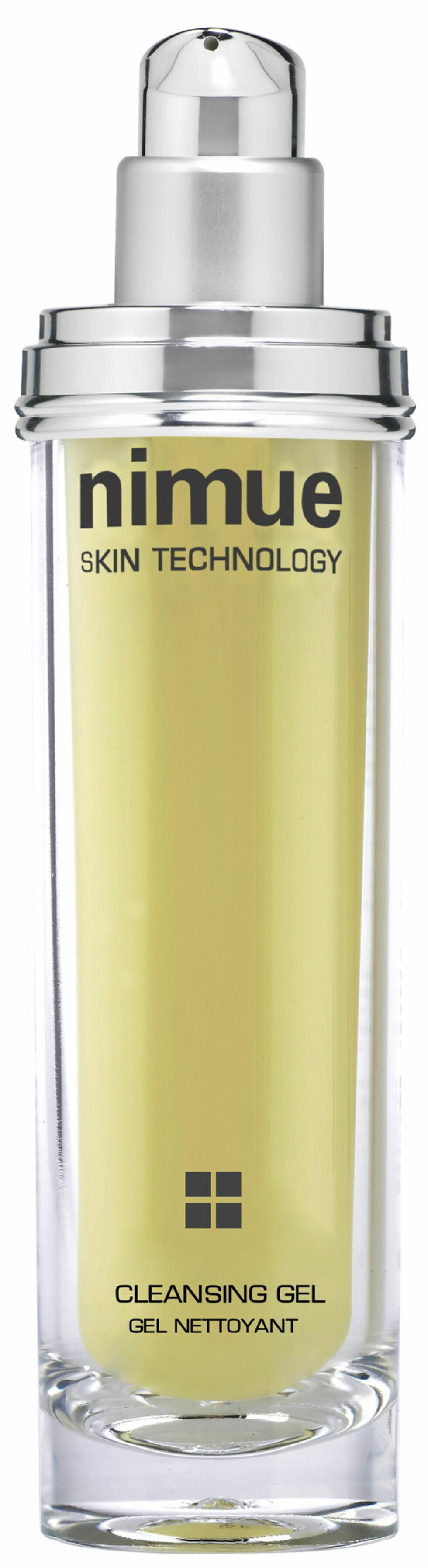 Cleansing Gel fra Nimue  er en eksfolierende rens til alle hudtyper. Renser huden i dybden samtidig som den gir ny glød, kr 509. Foto: Produsenten