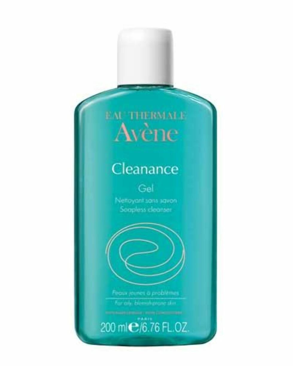 Cleanance Soapless Gel Cleanser fra Avène er en rensegelé for deg med fet og uren hud, kr 175.  Foto: Produsenten