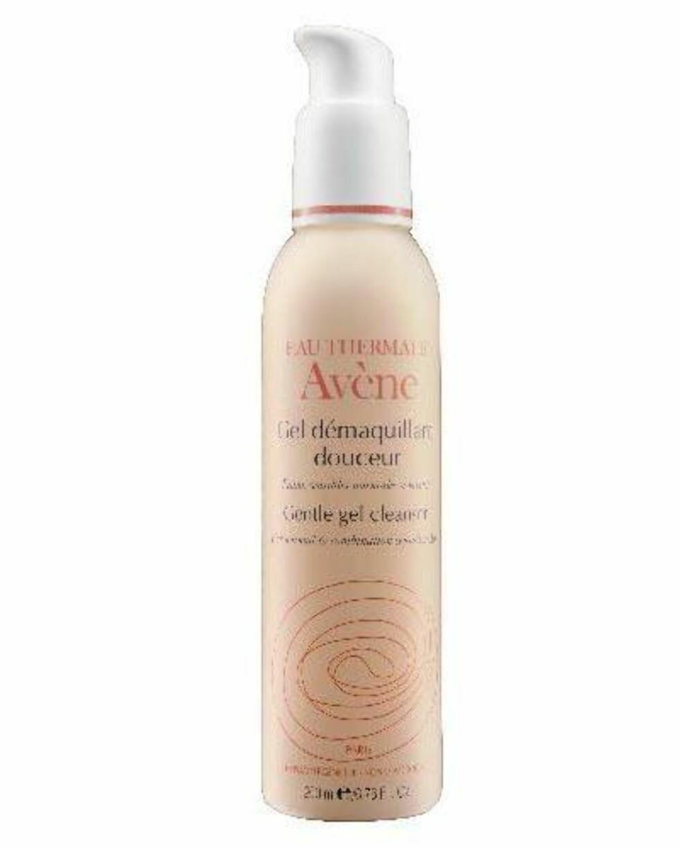 Gentle Gel Cleanser fra Avène er en alt-i-ett-rens for normal- og kombinasjonshud, kr 209. Foto: Produsenten