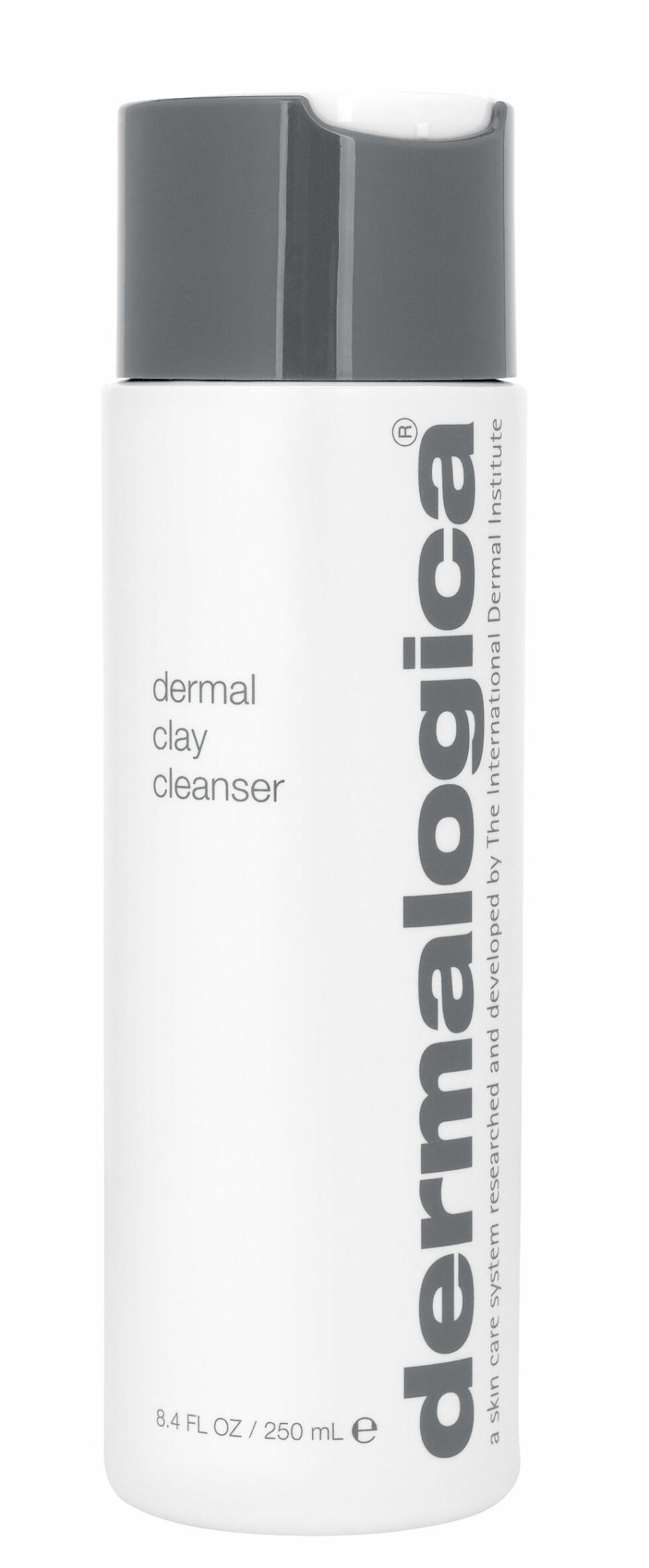 Dermal Clay Cleanser fra Dermalogica er et leirebasert renseprodukt som fjerner overflødig talg og gjenskaper hudens struktur. Passer for deg med fet eller blank hud, kr 350.  Foto: Produsenten