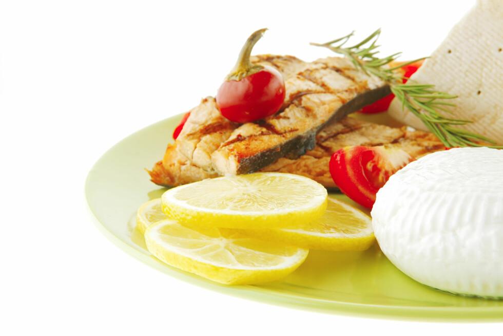 MIDDELHAVSLUNSJ: Det kan være gunstigere for diabetikere å droppe frokosten og heller spise en stor middelhavslunsj.  Foto: Greg - Fotolia
