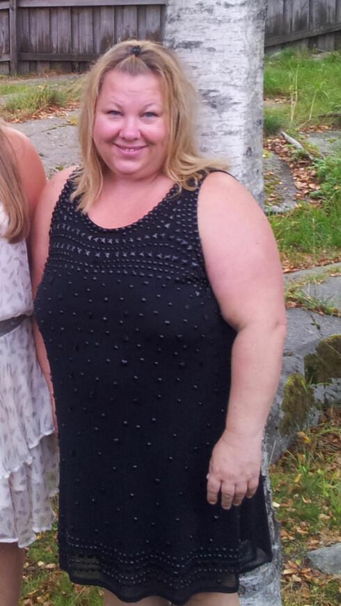 NYTT LIV: Da Anne-Lise nådde nesten 100 kilo, var det nok. Hun ville inn i en ny livsstil – og klarte det. Foto: Privat