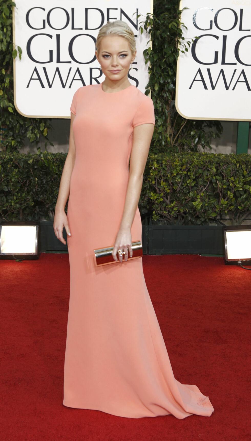 BEST KLEDD: Emma Stone i 2011 Foto: Ap