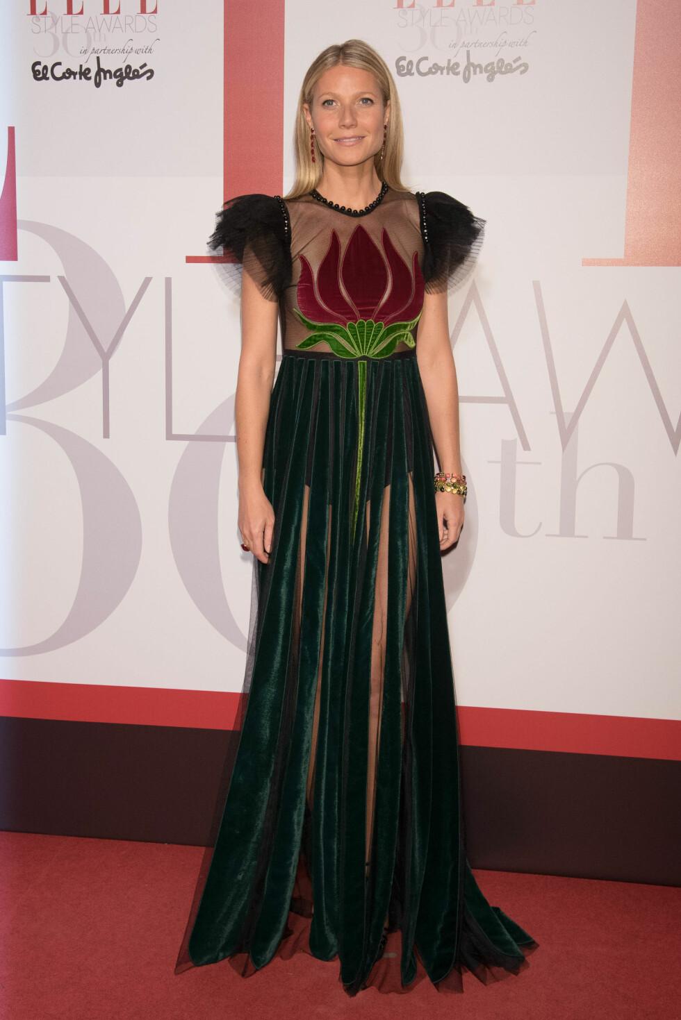 I GUCCI: Gwyneth Paltrow. Foto: SipaUSA