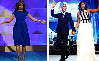 Michelle Obamas beste looks fra tiden som førstedame
