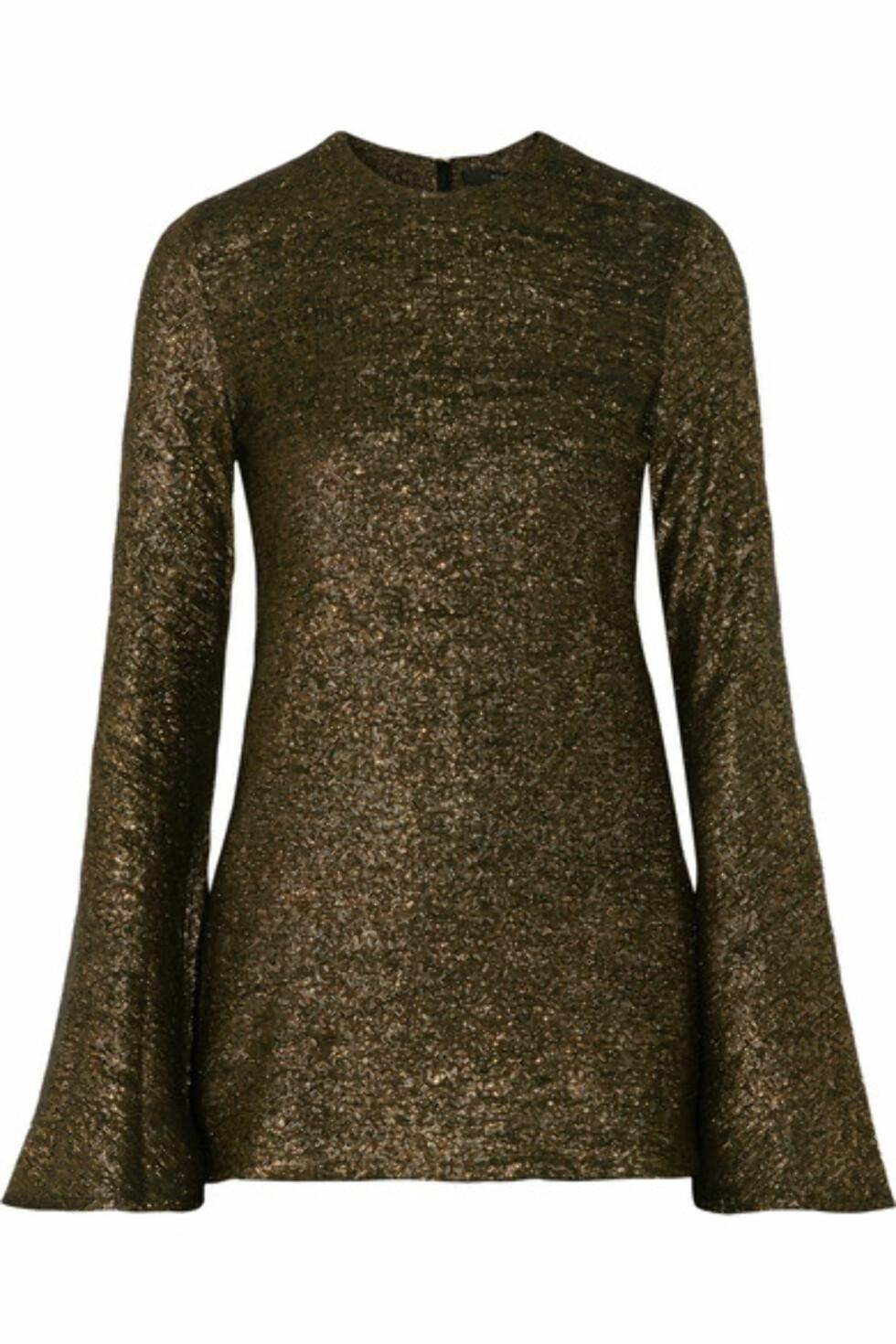 Topp fra Ellery via Net-a-porter.com | kr 5324 | https://www.net-a-porter.com/no/en/product/756487/ellery/inception-metallic-knitted-sweater