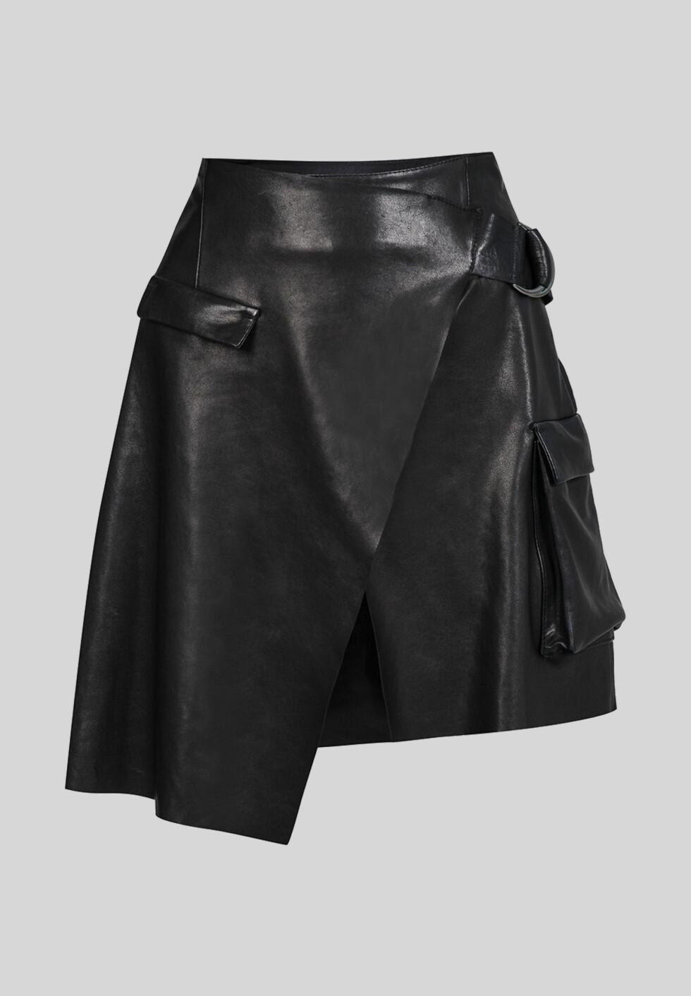 Skinnskjørt fra Lala Berlin | kr 4038 | https://www.lalaberlin.com/skirt-sonlyson-leather.html?cat_id=202