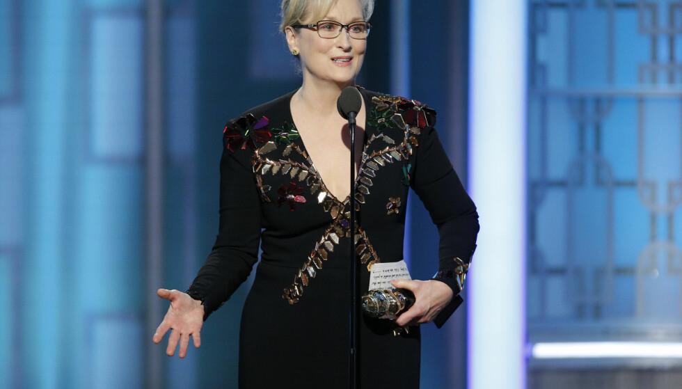 Her gir Meryl Streep et stikk til Donald Trump