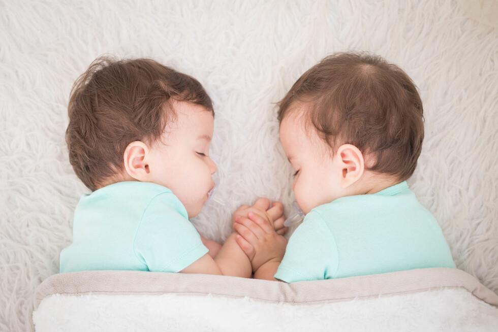 ØKTE FRA 90-TALLET: Ved assistert befruktning var det tidligere vanligere å sette inn to egg, for å øke sjansene for graviditet.  Foto: Scanpix