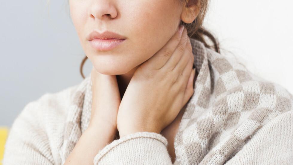 RAMMER FLEST KVINNER: Hashimotos tyreoiditt er en autoimmun sykdom, og en av de vanligste grunnene til lavt stoffskifte. Foto: Shutterstock / Nikodash