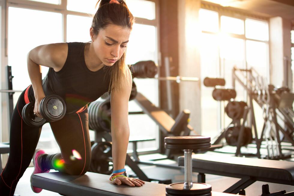 TREN STYRKE FØR KONDISJON: Personlig trener og osteopat, Camilla Seem, mener det er bortkastet å trene kondisjon etter styrketrening hvis du vil bli sterkere. Foto: Shutterstock / Bojan Milinkov