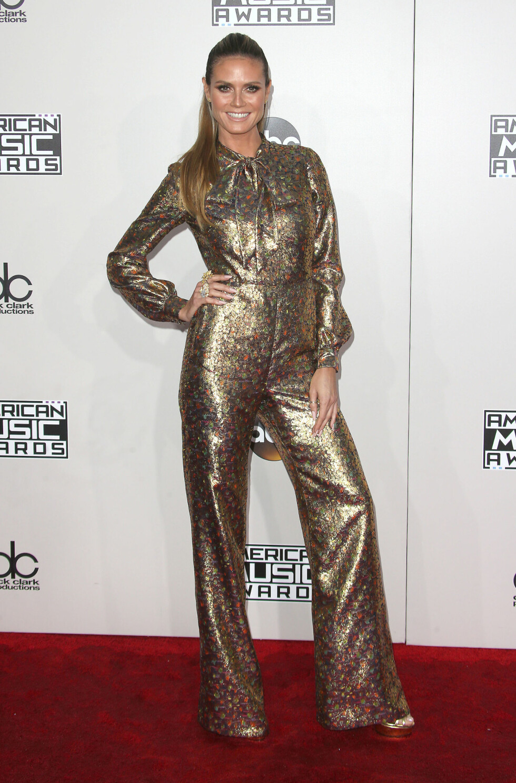 HEIDI KLUM: American Music Awards. Foto: SipaUSA