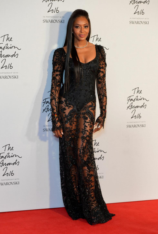 NAOMI CAMPBELL: The Fashion Awards.  Foto: Pa Photos
