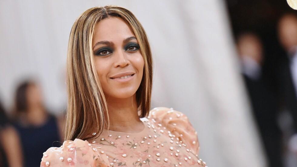 VERST KLEDD: Beyonces antrekk under Met-gallaen er ett av to antrekk som gjør at hun havner på årets verst kledde-liste. Unnskyld, Beyonce. Foto: Afp