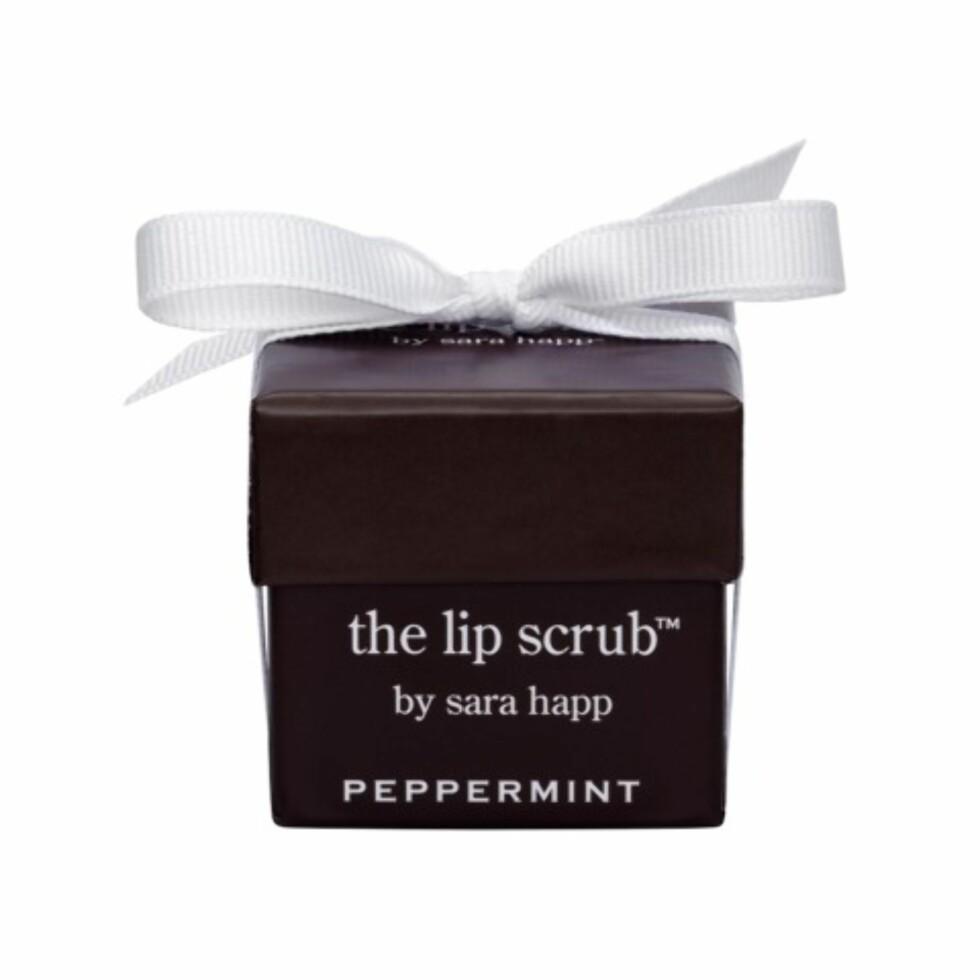 Leppeskrubb fra Sara Happ via Coverbrands.no | kr 183 | https://www.coverbrands.no/merker/sara-happ-1/the-lip-peppermint