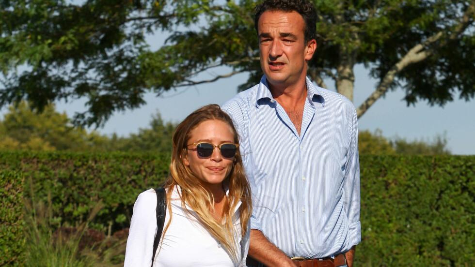 ALDERSFORSKJELL: Aldersforskjellen mellom designer og tidligere skuespillerinne Mary Kate Olsen (30) og Olivier Sarkozy (47) overrasket mange, men ifølge ekspertene er det langt fra uvanlig. Foto: Splash News