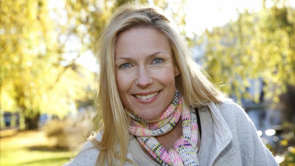 JULEFEIRING: Helene Sandvig slår et slag for litt mindre stress og prestasjonspress i julen. Foto: Anne Liv Ekroll, NRK