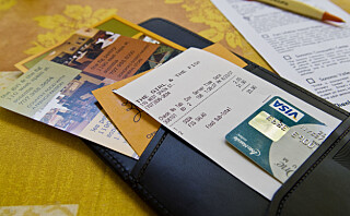 Derfor bør du dra kredittkortet på ferien