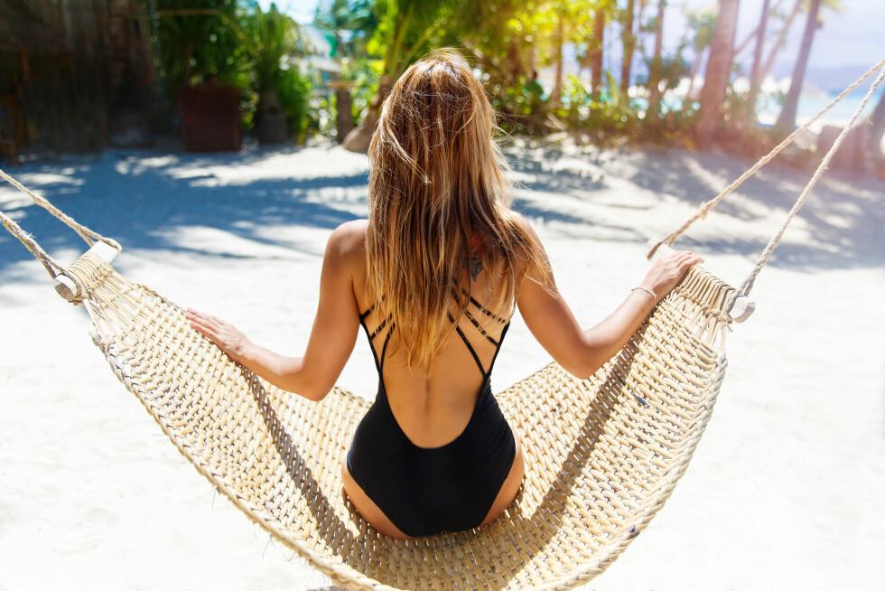 <strong>SOLARIUM FØR FERIEN:</strong> Mange tar solarium før ferien for at huden skal tåle sydensola bedre. Dette vil ifølge ekspertene heller virke mot sin hensikt og ikke ha den beskyttende effekten mange tror. Foto: Shutterstock / Frolova_Elena