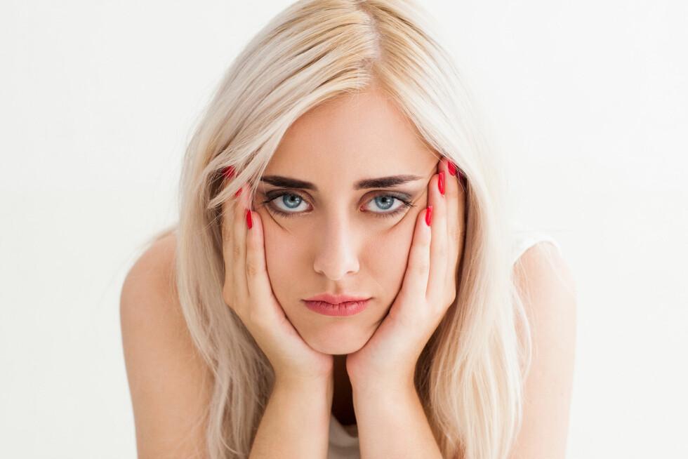 REDD FOR Å FEILE: Frykten for å gjøre feil noe som holder mange av oss tilbake.  Foto: Shutterstock / Golubovy