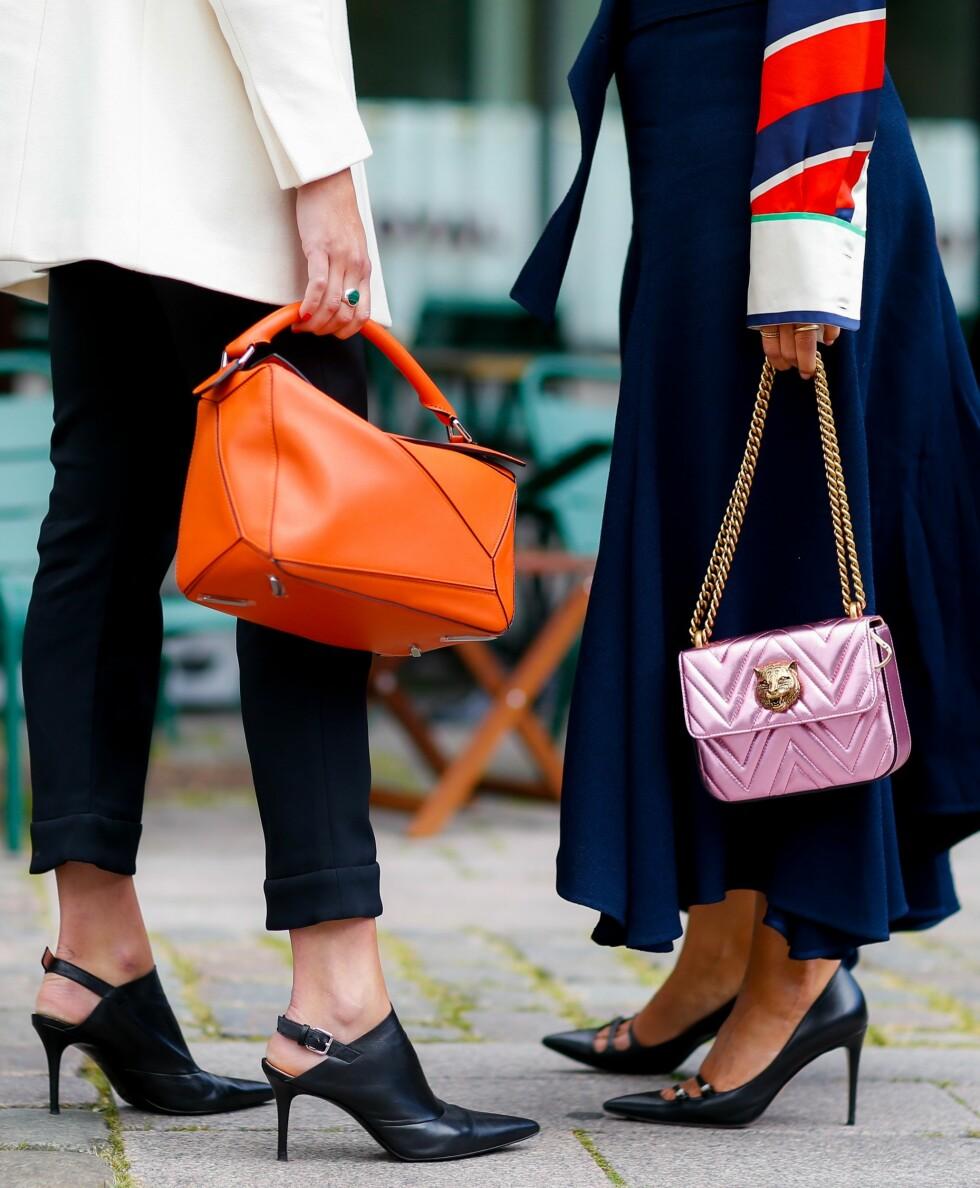 TREND 2016: Vesker fra Loewe og Gucci Foto: Abaca