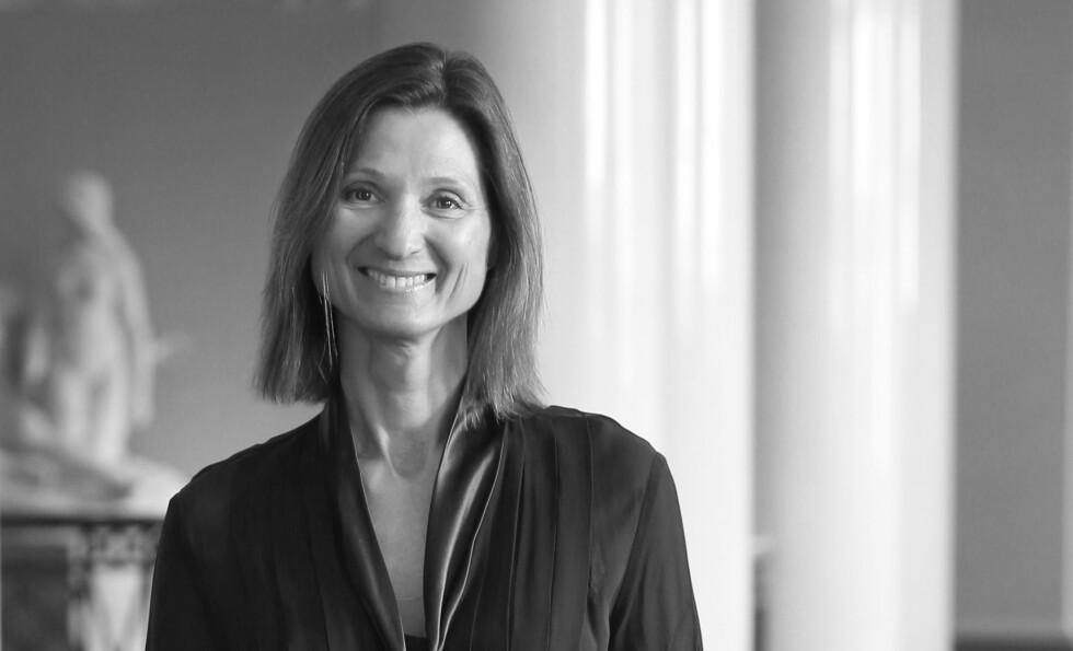KOMMUNIKASJONSSJEF: Marianne Hagen er ansatt som kommunikasjonssjef på Slottet. Foto: NTB Scanpix