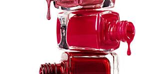 Stor test av sesongens røde neglelakker