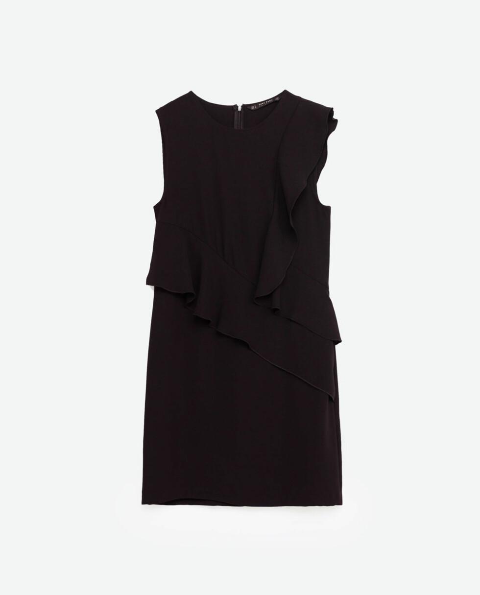 Kjole fra Zara | kr 349 | http://www.zara.com/no/no/dame/kjoler/kjole-med-volanger-c269185p3996037.html