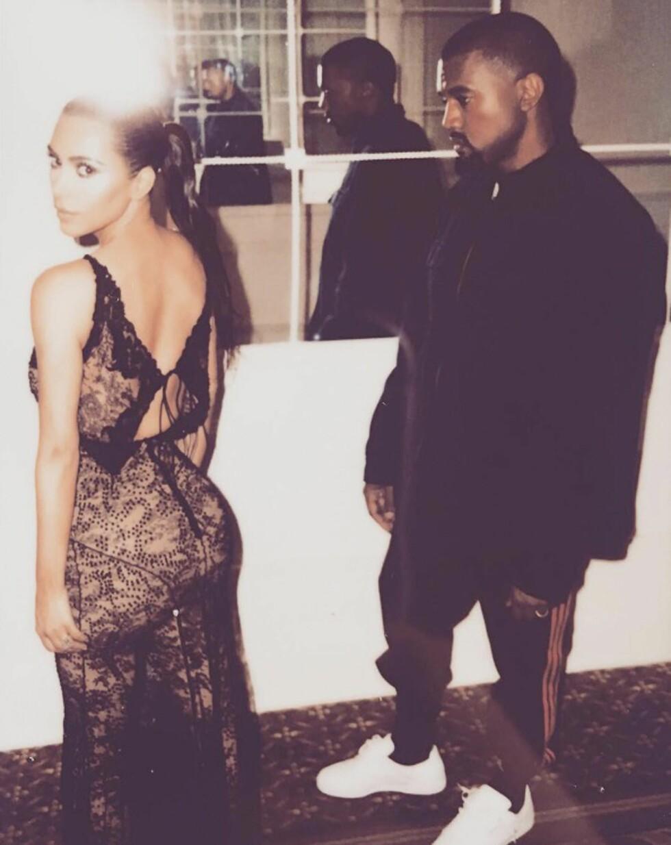 DRAMATISK: Både Kim Kardashian og Kanye West har hatt noen dramatiske måneder den siste tiden.  Foto: Xposure