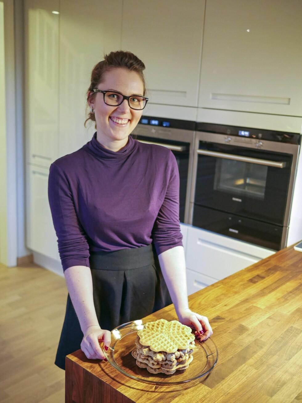 BLOGGER: Ida Nyborg er  utdannet kostholdsveileder, og dama bak bloggen «All den rare maten», hvor hun skriver om fordøyelse.  Foto: Ida Nyborg