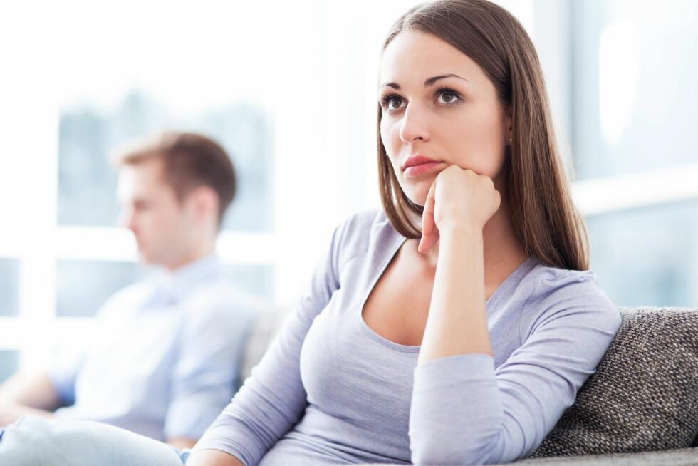 FØLELSER FOR EN ANNEN: Ifølge eksperten er det å få følelser for en annen enn partneren sin en av de vanligste årsakene til samlivsbrudd.  Foto: Edyta Pawlowska - Fotolia