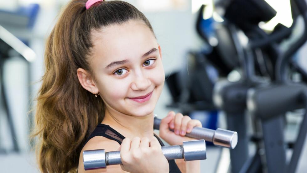 <strong>PÅ DERES PREMISSER:</strong> Når barna nærmer seg tenårene er det lite i veien for å trene systematisk mot den idretten de har interesse for, mener barnepsykologen.  Foto: Scanpix