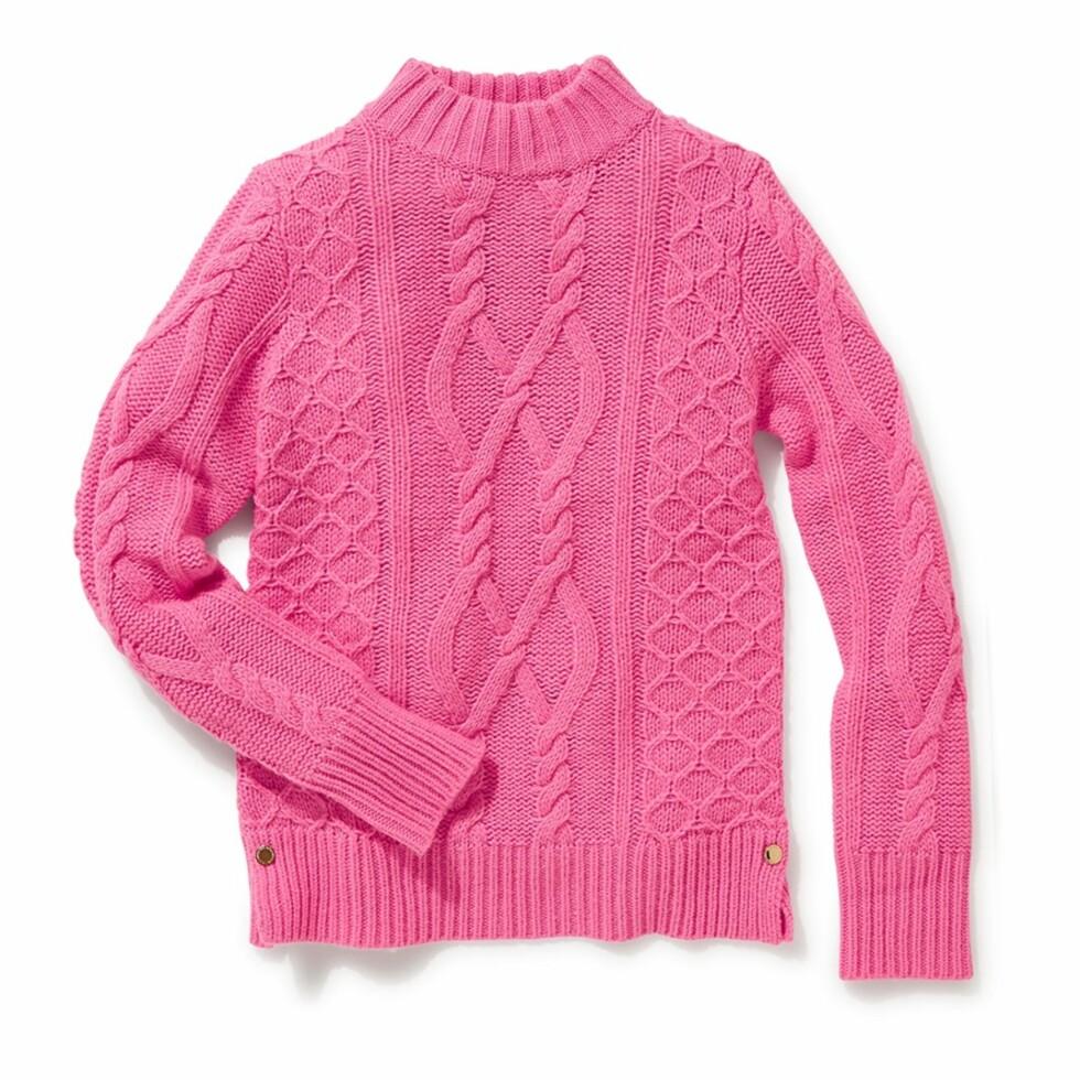 Genser fra Lindex | kr 299 | http://www.lindex.com/no/dame/overdeler/sweaters/7509542/Kabelstrikket-genser/?styleId=94652897