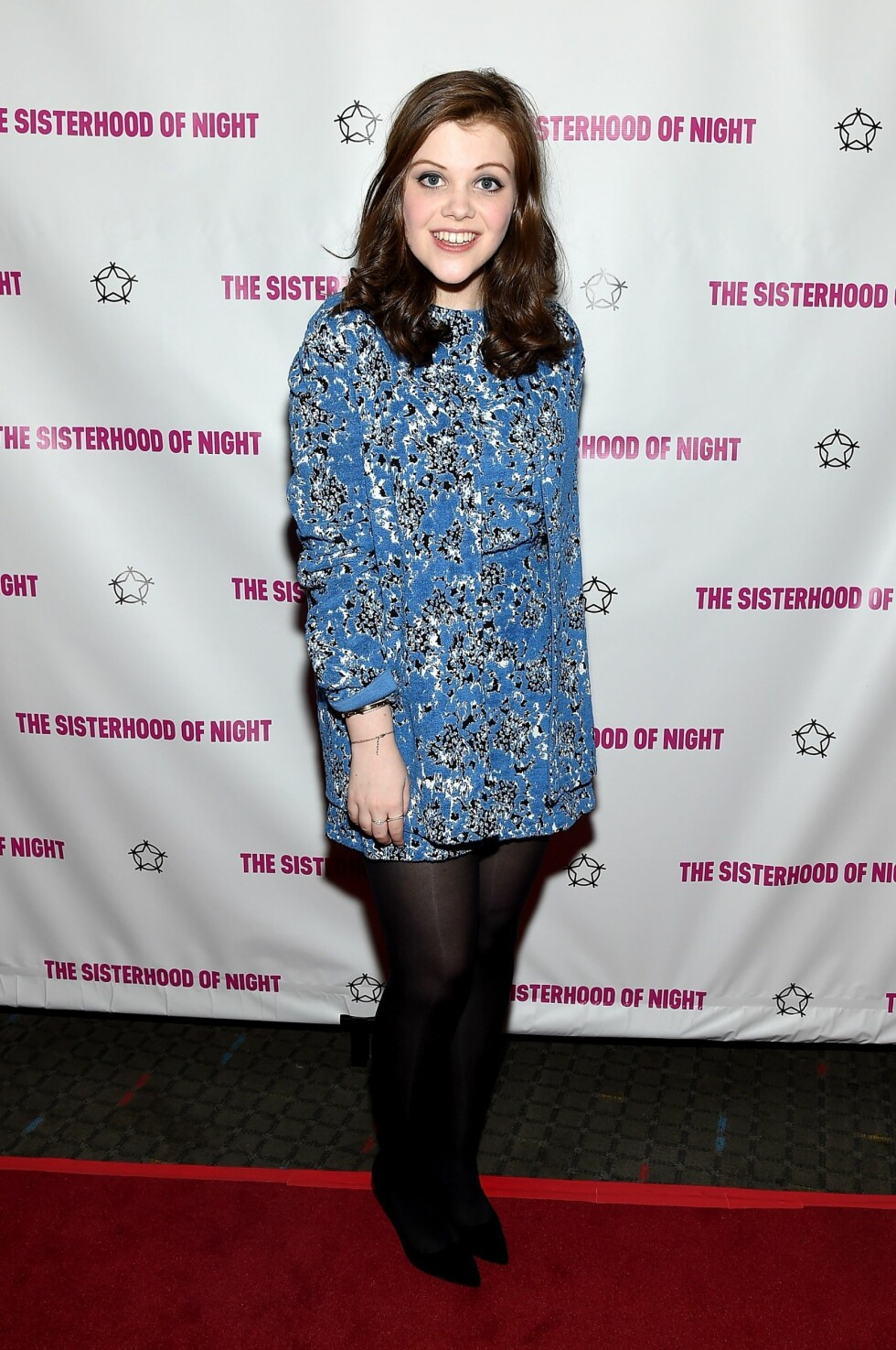 """NEW YORK, NY - APRIL 02: Actress Georgie Henley attends """"The Sisterhood Of Night"""" NY Premiere and After Party on April 2, 2015 in New York City.   Mike Coppola/Getty Images for Evenstar Films/AFP == FOR NEWSPAPERS, INTERNET, TELCOS & TELEVISION USE  data-cke-saved-ONLY == ONLY == Foto: Afp"""